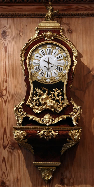 Régence bracket clock attributed to J.P. Latz circa 1725-30