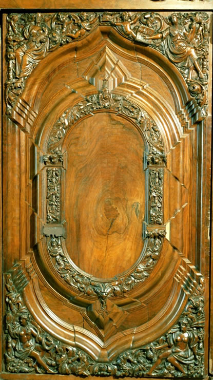 North German Baroque two-door cabinet