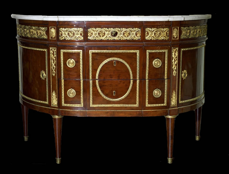Louis XVI commode by STOCKEL