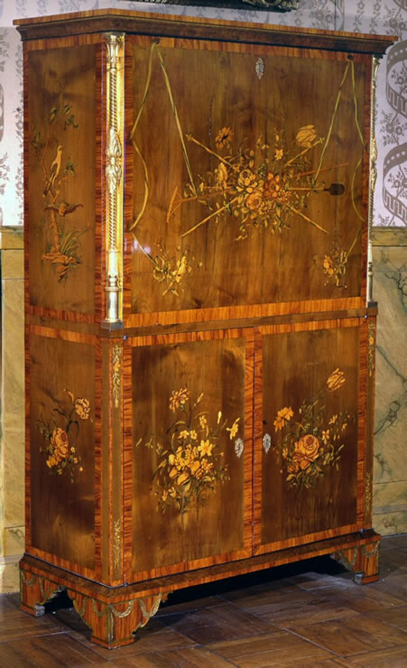 Marquetry Secretaire By David Roentgen