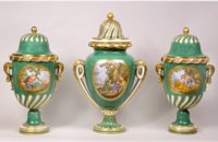 Sevres garniture by Dodin